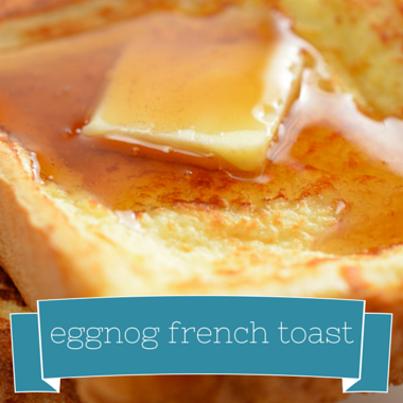 Brian Malarkey: Eggnog French Toast Recipe with Cranberry Orange Syrup