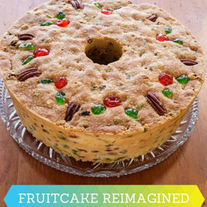 Rachael Ray: Josh Capon Fruit Cake Waffles Recipe & Fruit Cake Donuts