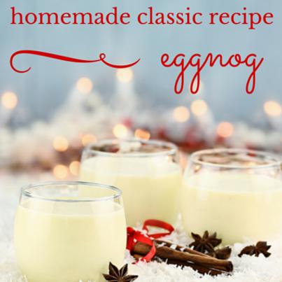 Today Show: Martha Stewart Classic Homemade Eggnog Recipe