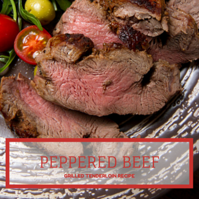 The Talk: Fabio Viviani Grilled Peppered Beef Tenderloin Recipe