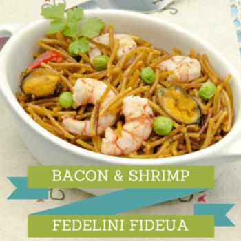 bacon-shrimp-fedelini-fideua-