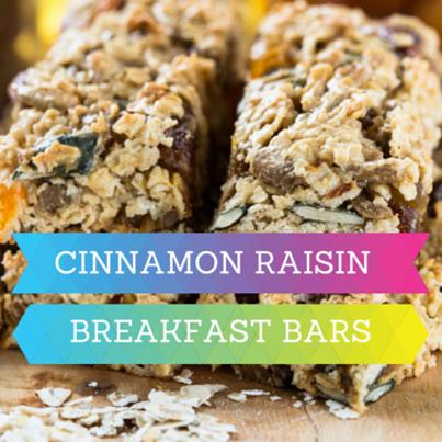 The Chew: Clinton Kelly Cinnamon-Raisin Breakfast Bars Recipe