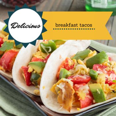The Chew: Mario Batali Energy-Boosting Breakfast Tacos Recipe