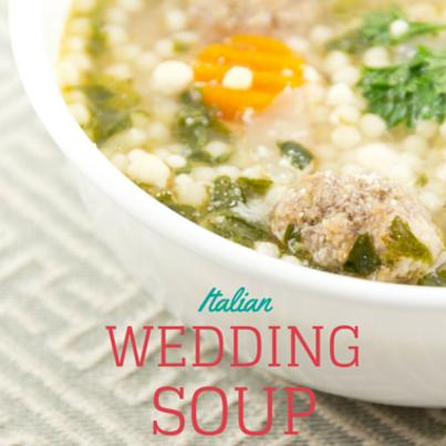The Chew: Chef Mario Batali's Turkey Meatball Wedding Soup Recipe