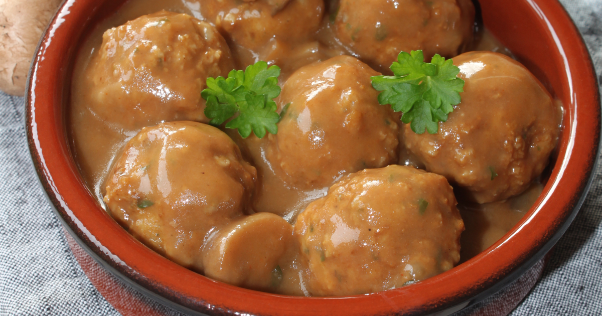 how to make chicken meatballs without eggs
