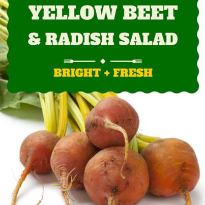 Rachael Ray: Robert Irvine Roasted Yellow Beet and Radish Salad Recipe