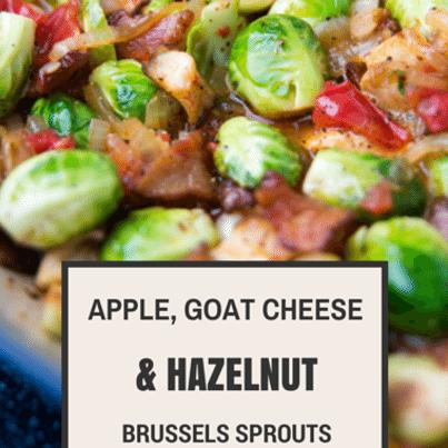 Susan Feniger: Apple-Goat Cheese-Hazelnut Brussels Sprouts Recipe