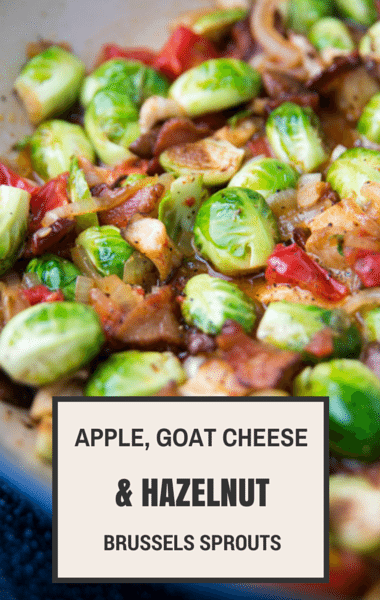 Brussels Sprouts Goat Cheese Gratin Recipe — Dishmaps