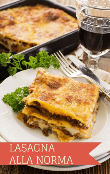 The Chew Mario Batali Baked Lasagna Alla Norma Recipe Ings