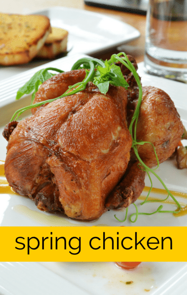 The Chew: Roasted Spring Chicken with Carrots Recipe & Fantasy Sweet