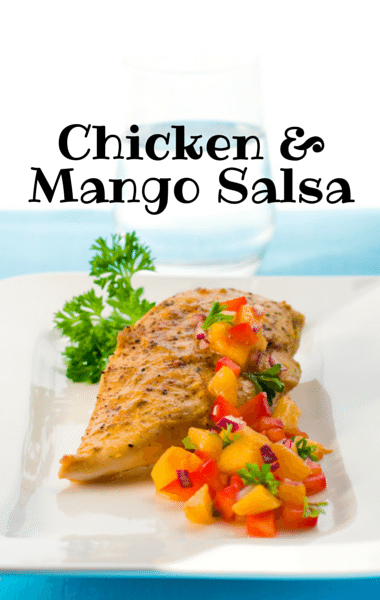 The Chew: Clinton's Macadamia Crusted Chicken with Mango Salsa Recipe