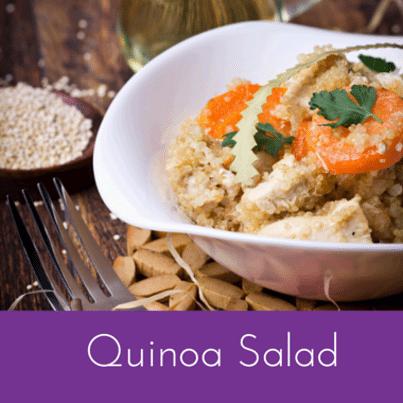 Ryan Scott: Quinoa Salad Recipe with Peanut & Sesame Dressing