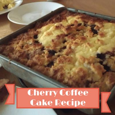 Cherry Coffee Cake Recipe From The Chew