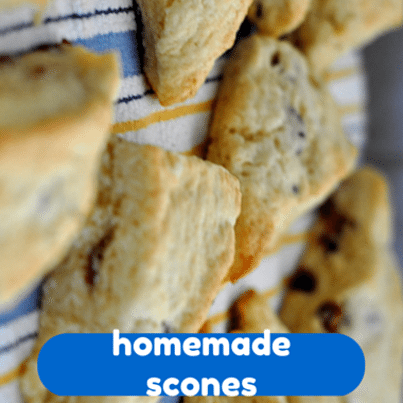 Rachael Ray: Chocolate Almond Cherry Scones Recipe