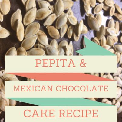 Pepita Mexican Chocolate Cake