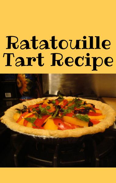 Clinton Kelly made a Ratatouille Tart recipe on The Chew, using fresh ...