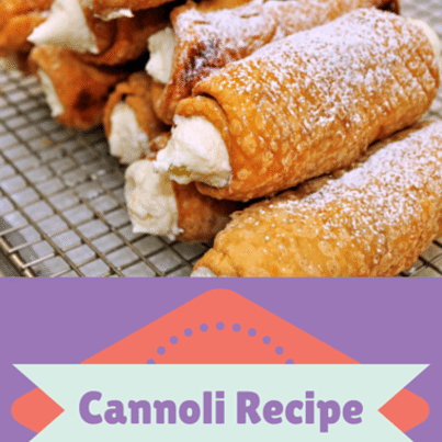How To Make Cannoli Shells Cake Boss