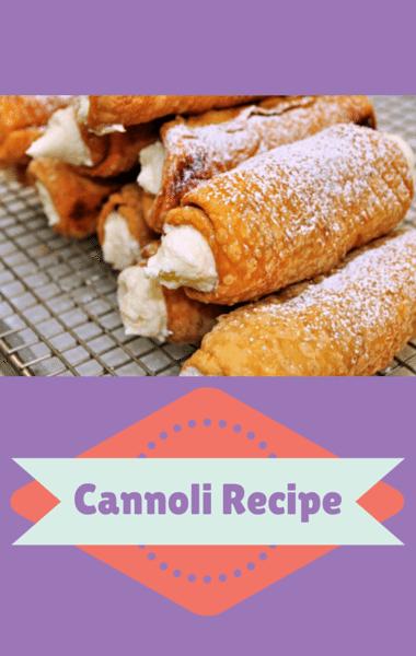 Rachael Ray: Buddy Valastro Classic Cannoli Recipe