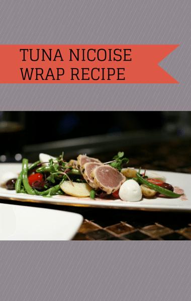 The Chew: Clinton Kelly Tuna Nicoise Wrap Recipe + Cranberry Cooler