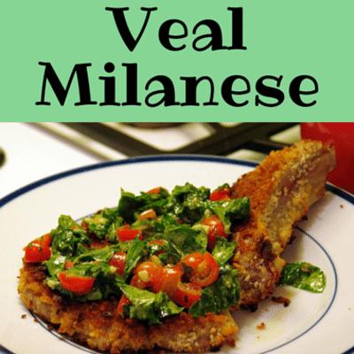 Italian Veal Milanese Recipe (Cotolette alla Milanese) |Veal Milanese