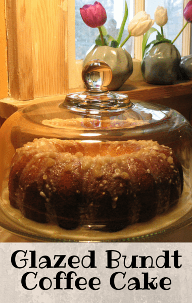 shared a deliciously layered recipe for his Cinnamon-Sugar Coffee Cake ...