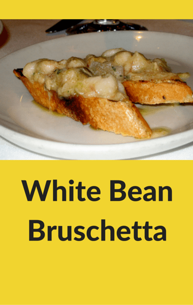 The Chew: White Bean Bruschetta Recipe