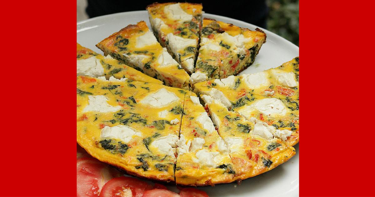 Rachael Ray: Spinach & Ricotta Frittata Recipe