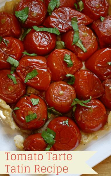 The Chew: Michael Symon Tomato Tarte Tatin Recipe