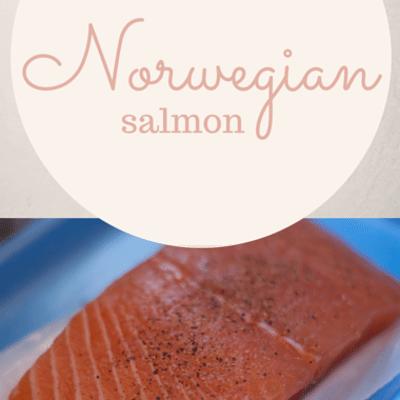 The Chew: Norwegian Salmon Recipe