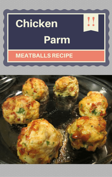 Rachael Ray: Chicken Parm Meatballs + Spicy Marinara
