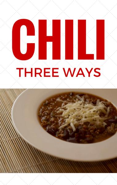 Rachael Ray Chili Three Ways Corny Black Bean Chili