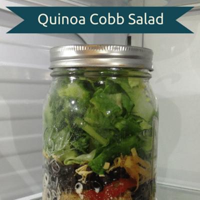 Rachael Ray: Quinoa Cobb Salad In A Jar Recipe