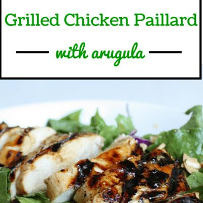 Rachael Ray: Grilled Chicken Paillard With Arugula & Pecorino