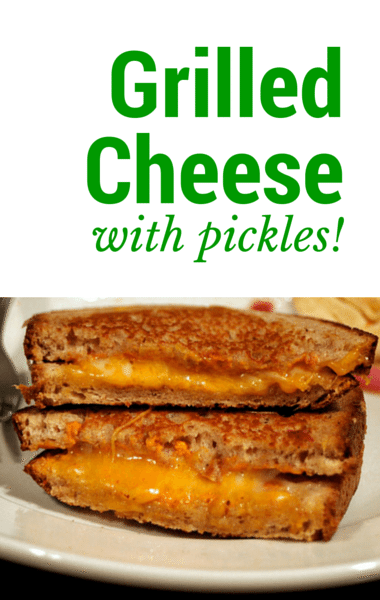 The Chew Cheesy Pickle Sandwich Recipe