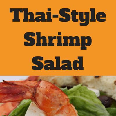 The Chew: Thai-Style Shrimp Salad Recipe + Paloma Cocktail