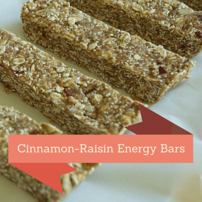 The Chew: Cinnamon-Raisin Energy Bars Recipe
