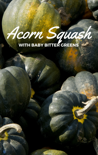 how to cook acorn squash for baby