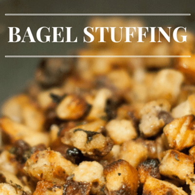 The Chew: Bagel Stuffing Recipe
