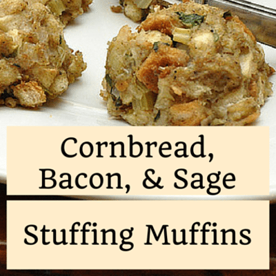 Rachael Ray: Cornbread, Bacon & Sage Stuffing Muffins Recipe
