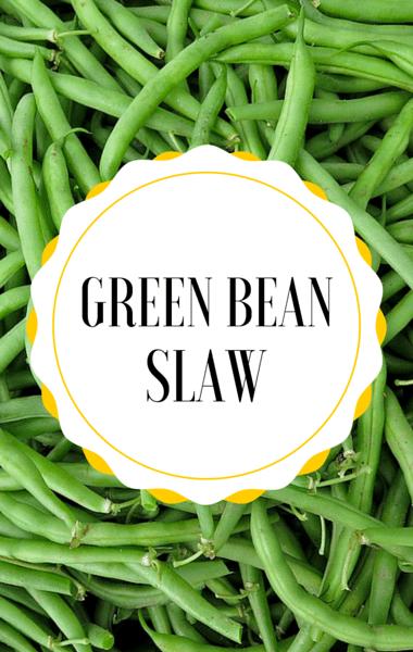 Rachael Ray: Ryan Scott Green Bean Slaw Recipe