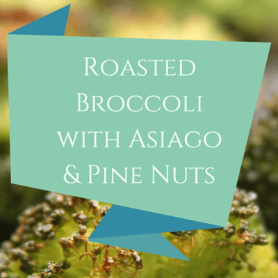 Rachael Ray: Roasted Broccoli With Asiago & Pine Nuts