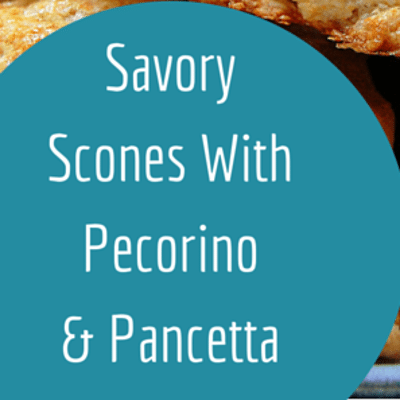 The Chew: Savory Scones With Pecorino & Pancetta