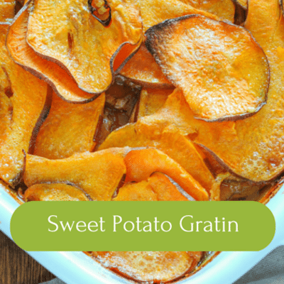 The Chew: Sweet Potato Gratin Recipe