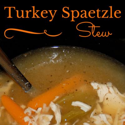 The Chew: Turkey Spaetzle Stew Recipe