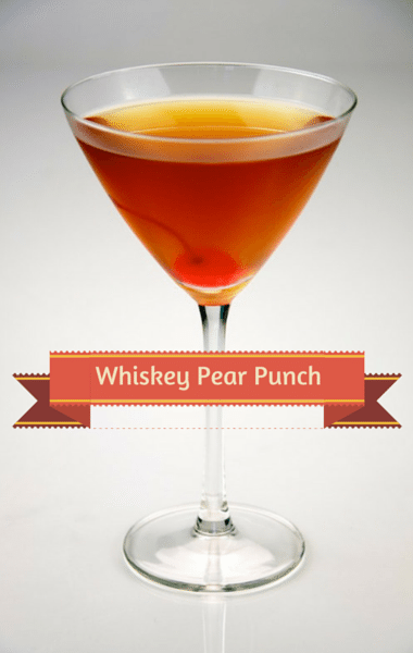 The Chew: Whiskey Pear Punch Recipe