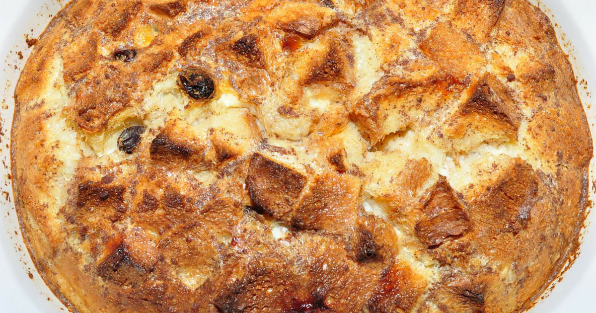 Rachael Ray: Emeril Lagasse Wild Mushroom Bread Pudding