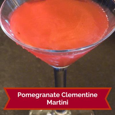 Rachael Ray: Pomegranate Clementine Martini Recipe