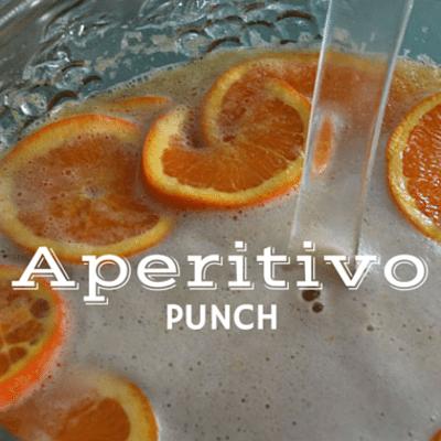 The Chew: Aperitivo Punch Recipe