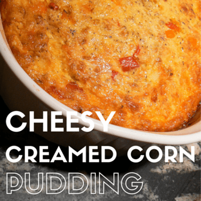 Rachael Ray: Cheesy Creamed Corn Pudding Recipe