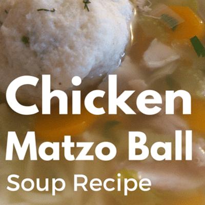 The Chew: Chicken Matzo Ball Soup Recipe